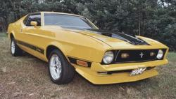 Vuurwas 1972 Ford Mustang