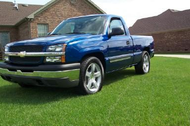 kaotickustomss 39 s 2004 chevrolet silverado 1500 regular cab in owensboro ky. Black Bedroom Furniture Sets. Home Design Ideas