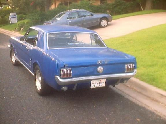 Another starnsey 1966 Ford Mustang post... - 3837725