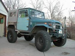 nuclearlemon65s 1965 Toyota Land Cruiser