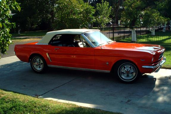 64PoppyRed 1964 Ford Mustang Specs, Photos, Modification ...