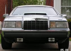 BADBLU7 1991 Lincoln Mark VII