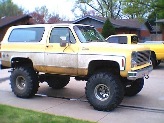tburt 1978 Chevrolet Blazer Specs, Photos, Modification ...