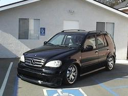 irondentists 2000 Mercedes-Benz M-Class