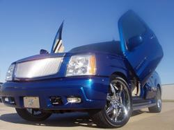 BLUEXTON24Ss 2003 Cadillac Escalade