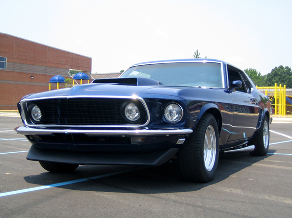 69coupe351 S 1969 Ford Mustang In