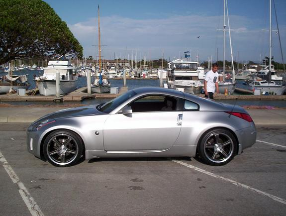 zeeunit 2003 nissan 350z specs photos modification info. Black Bedroom Furniture Sets. Home Design Ideas