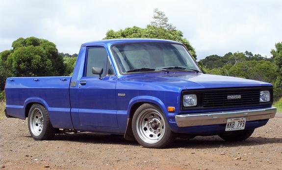 1984 Mazda B-Series Cab Plus