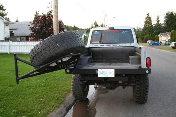 Tailgate Tire Rack The Ranger Station Forums