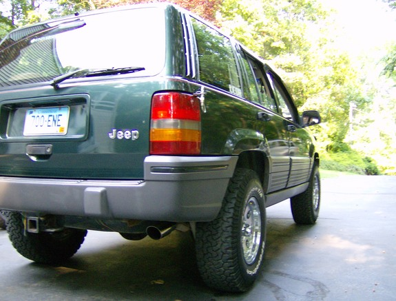 Christopher's Jeep Grand Cherokee