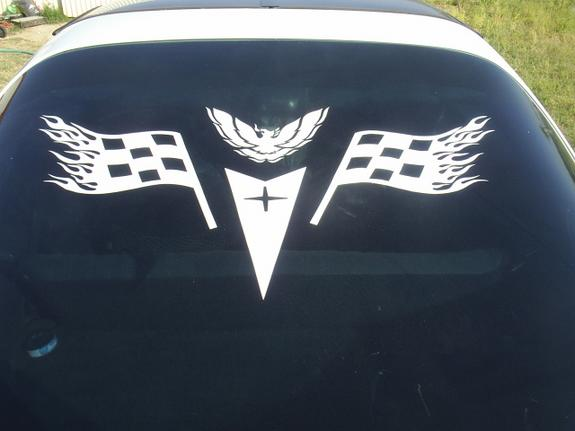 Rear Window Decals LSTECH Camaro And Firebird Forum Discussion - Chevy bowtie rear window decal