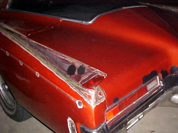 Delicieux Thw 72 Ranchero GT Hood Scoop The 64 Caddy Fins The 72 Torino Mirrors The  Rear