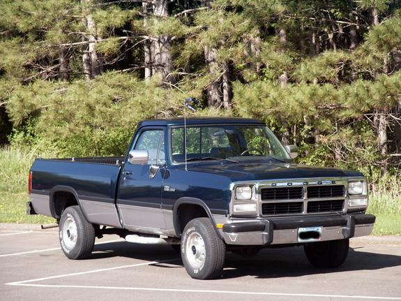 Olympiccop2002 1993 Dodge W-Series Pickup Specs, Photos, Modification Info at CarDomain
