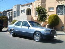 92mbz190e2597ccs 1992 Mercedes-Benz 190-Class