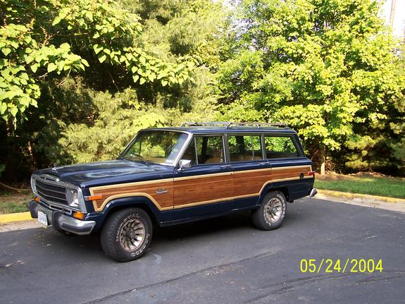 Woody86 1986 Jeep Grand Wagoneer 4089283