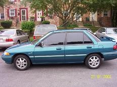 GangstaGreens 1994 Mercury Tracer