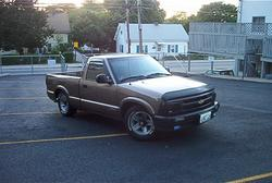 martee 1996 Chevrolet S10 Regular Cab