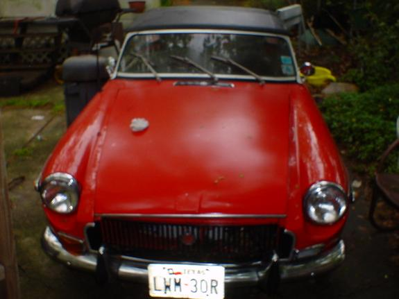 SkunkFox 1972 MG MGB