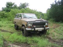 87bulldog 1987 Jeep Grand Wagoneer
