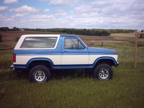 1985 Ford Bronco