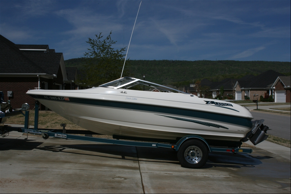 Enjoyable Nice Boat 18 Foot Larson 4 3 V6 For Sale Ls1Tech Camaro And Wiring 101 Taclepimsautoservicenl