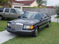 mcguire4162s 1989 Mercedes-Benz S-Class