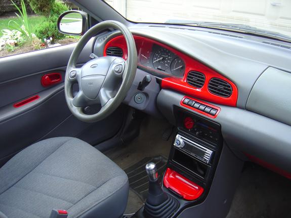 wuthappened2punk 1994 Ford Aspire
