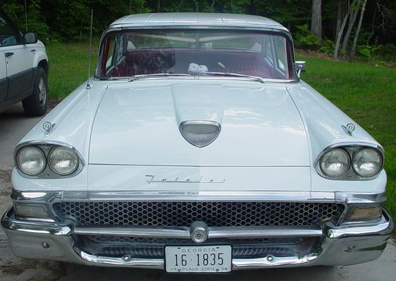 FairlaneGuy58 1958 Ford Fairlane