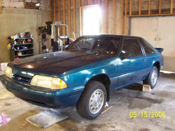 19teal93lx 1993 Ford Mustang 4230077