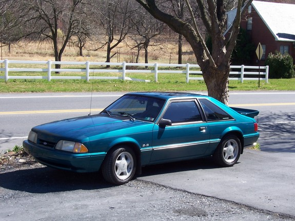 19teal93lx 1993 Ford Mustang 4230088