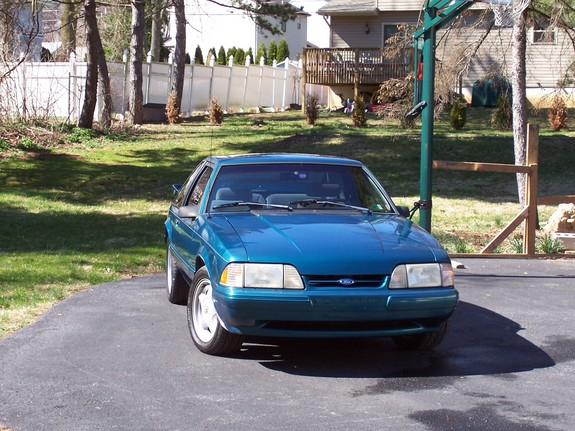 19teal93lx 1993 Ford Mustang 4230090