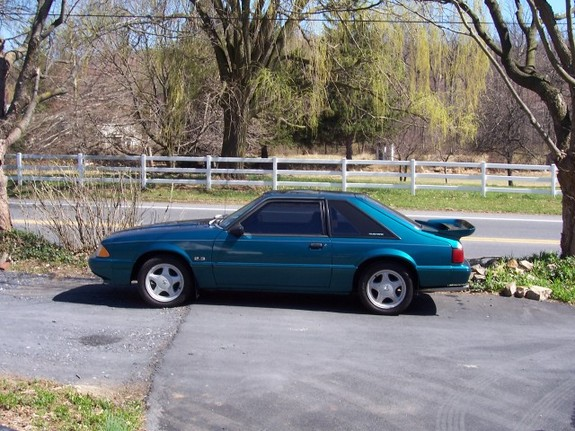 19teal93lx 1993 Ford Mustang 4230091