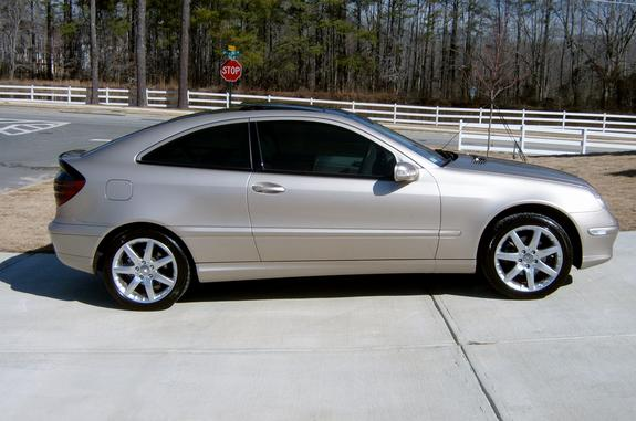 Drake1238 2002 mercedes benz c classc230 sport coupe 2d for 2002 mercedes benz c class coupe