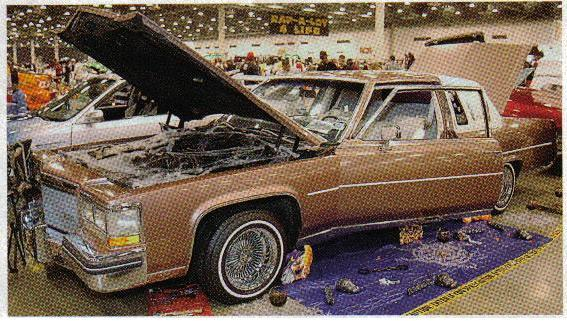 1984CADDY 1984 Cadillac Fleetwood