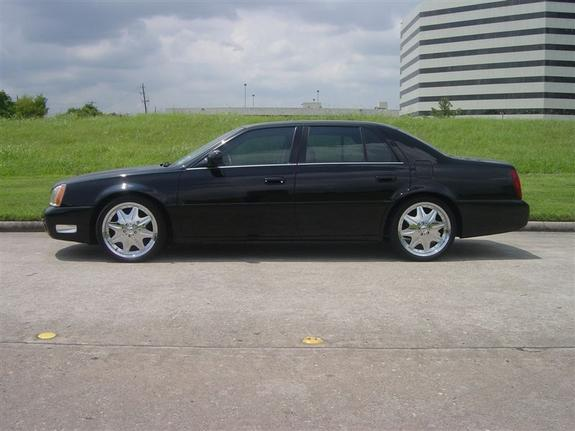 2002 Cadillac DeVille On Rims