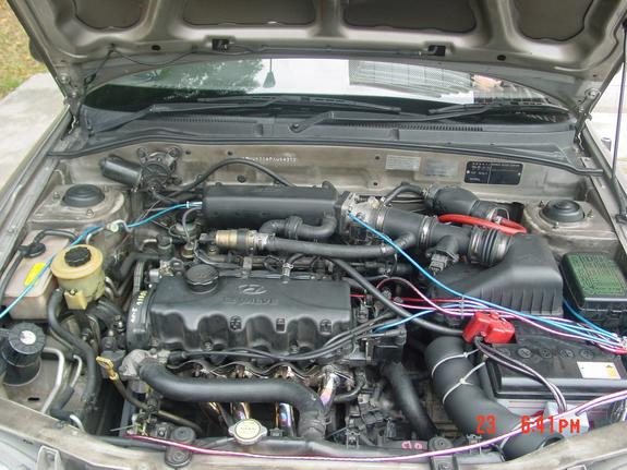 Orixy 1998 Hyundai Accent Specs  Photos  Modification Info