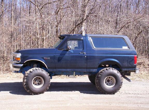 bigbronco4x4jay 1993 ford bronco specs photos. Black Bedroom Furniture Sets. Home Design Ideas