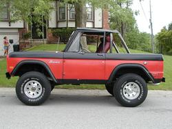ranger70s 1968 Ford Bronco