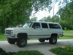 chevyburb4x4s 1991 Chevrolet Suburban 1500