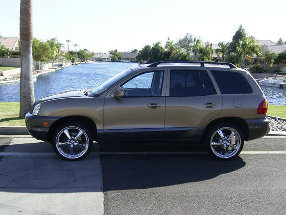 richnaz 2003 hyundai santa fe specs photos modification info at cardomain. Black Bedroom Furniture Sets. Home Design Ideas