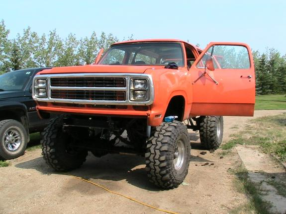 dodge ramcharger 1980s