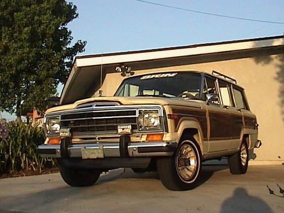 mcmeeence 1987 Jeep Grand Wagoneer
