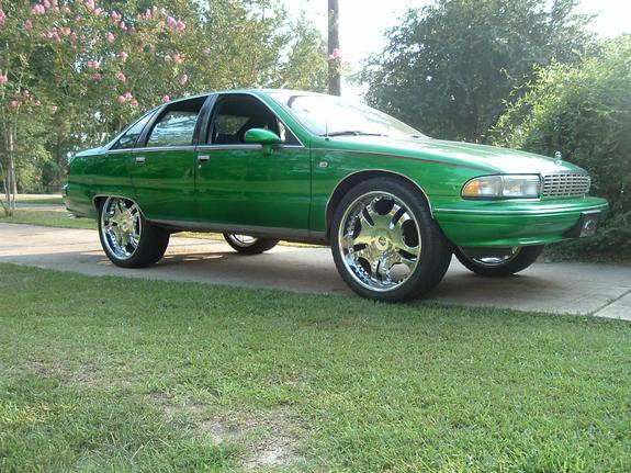 Candy_CC_on24s 1995 Chevrolet Caprice 4437225