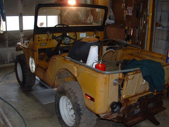 YELLOWCJ 1971 Jeep CJ5 4467285