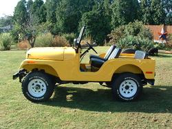 YELLOWCJs 1971 Jeep CJ5