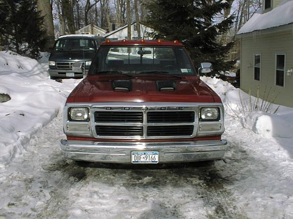 Large on 1991 Dodge D150