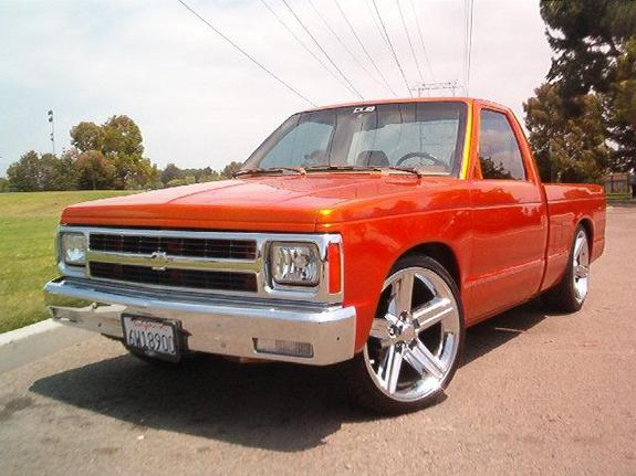 Shaved chevy body line