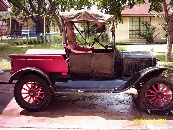 98Aggie 1921 Ford Model T