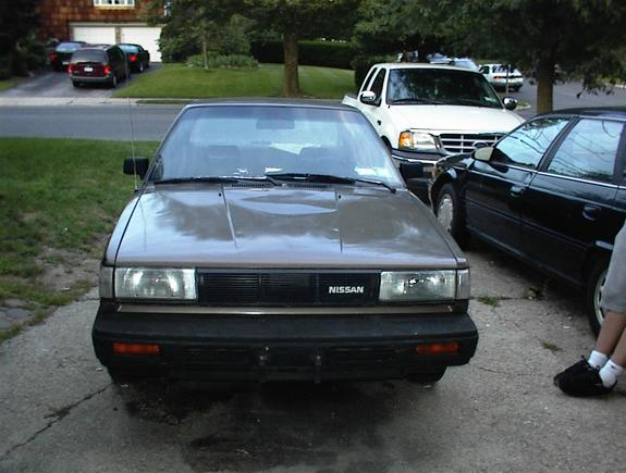 boxonwheels 39 s 1987 nissan sentra in somewhere in ny. Black Bedroom Furniture Sets. Home Design Ideas