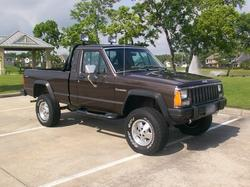 my87mjs 1987 Jeep Comanche Regular Cab